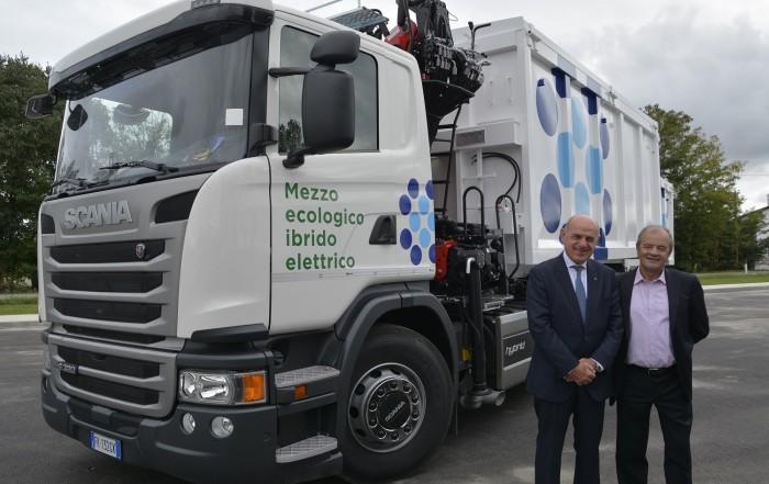 camion ibrido Scania