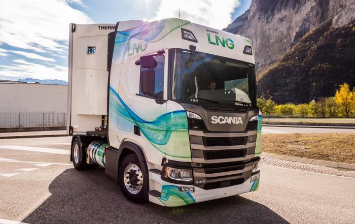 motore a metano Scania