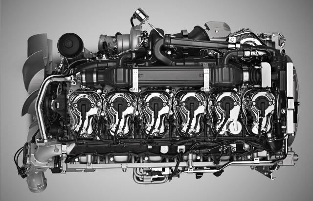 Scania motore a metano da 13 litri