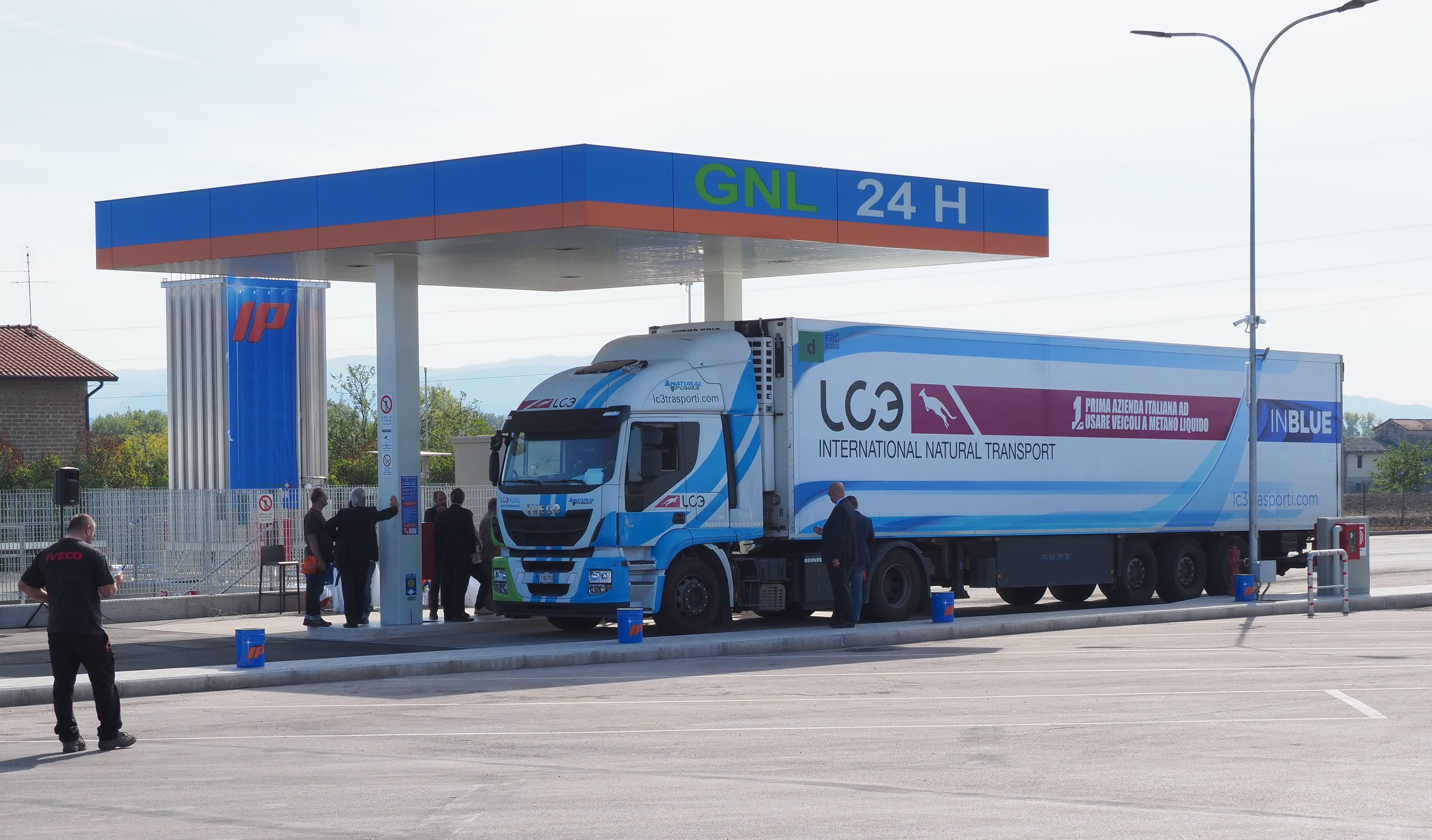 Nuova stazione LNG a Balanzano (Perugia)