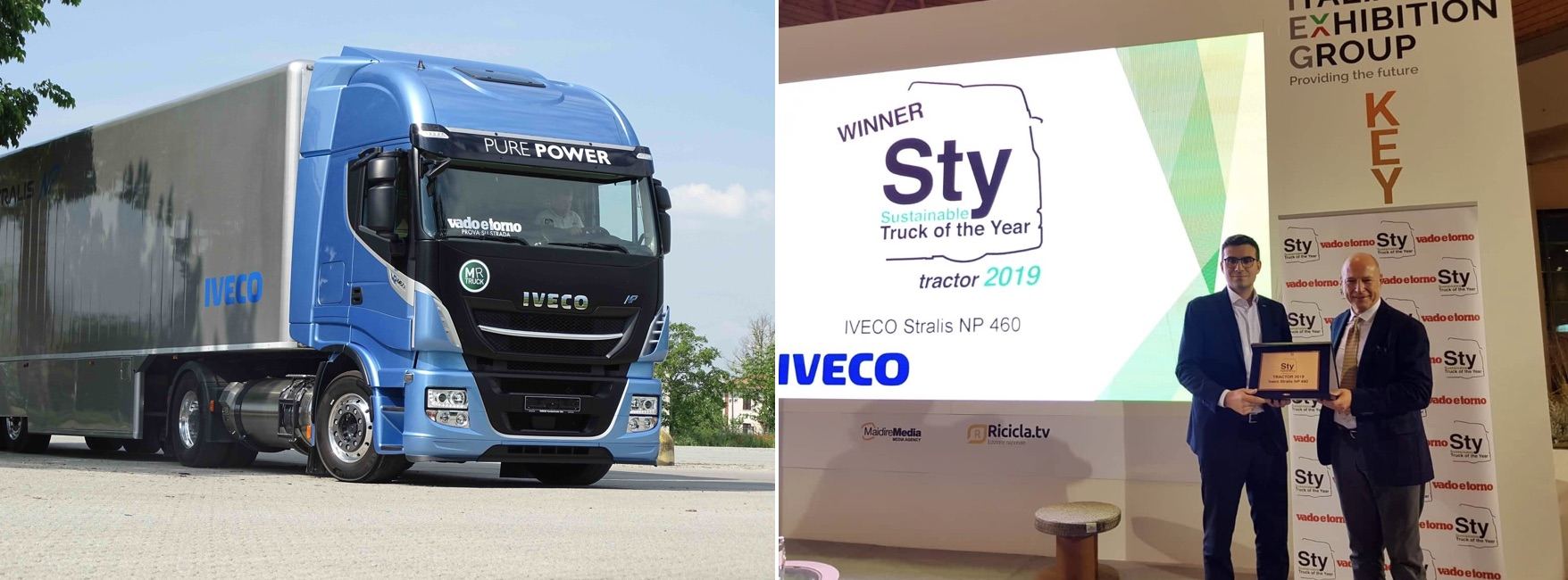 STY 'TRACTOR 2019': Iveco Stralis NP 460