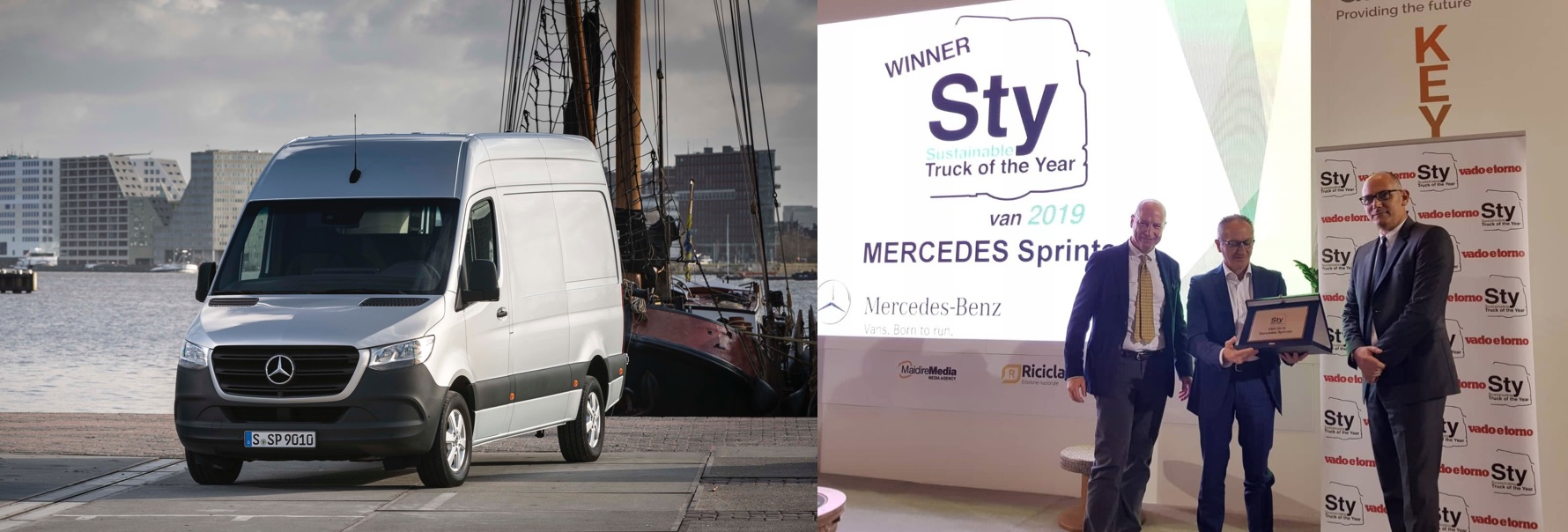 STY 'VAN 2019': Mercedes Sprinter