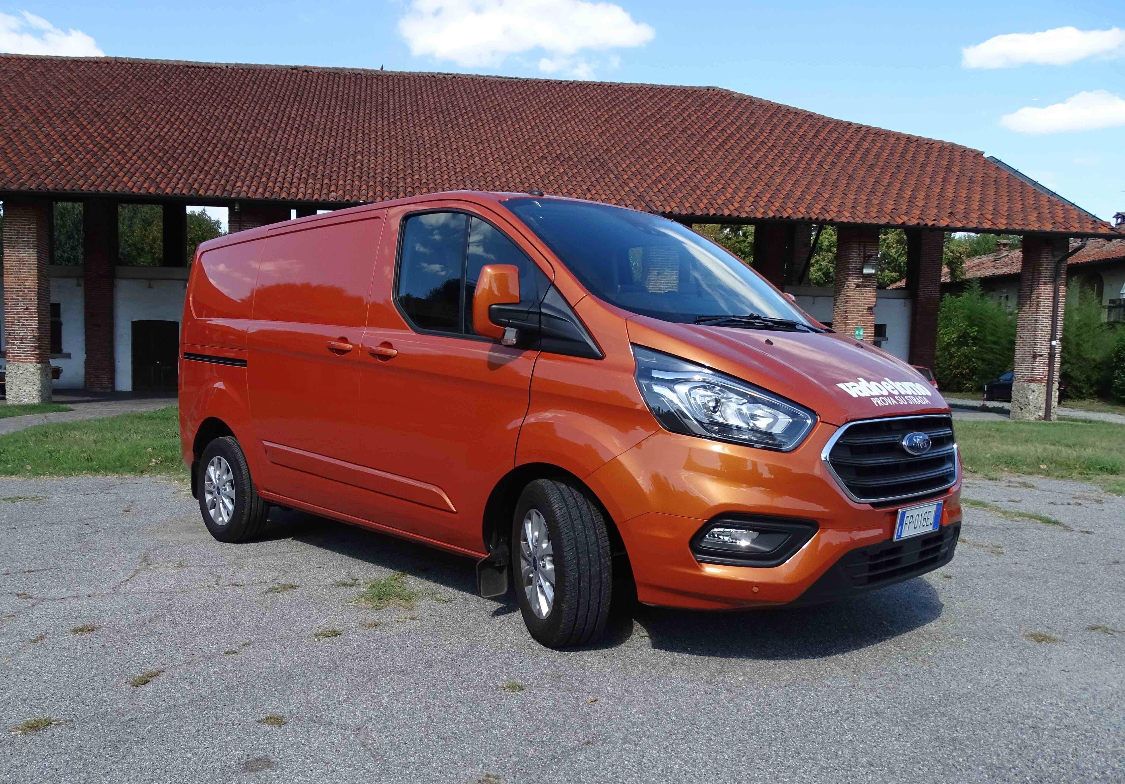 Ford Transit Custom 300 L1 H1 Titanium