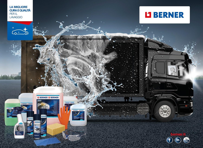 Il programma Berner per il lavaggio professionale dei veicoli