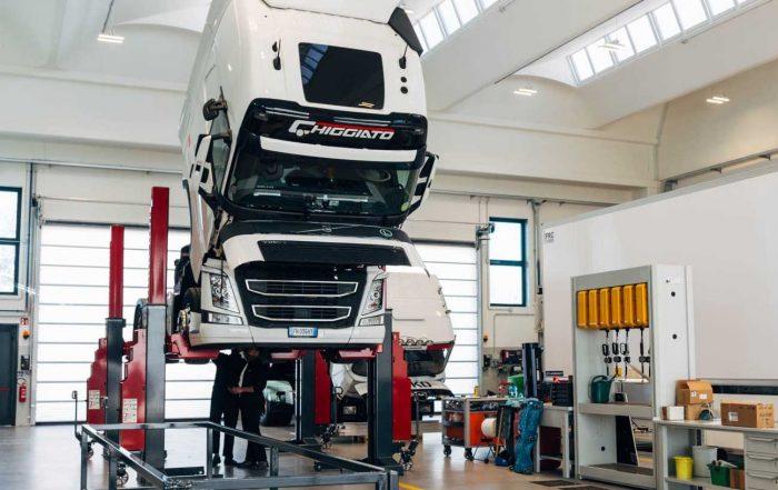 Revisione dei veicoli pesanti