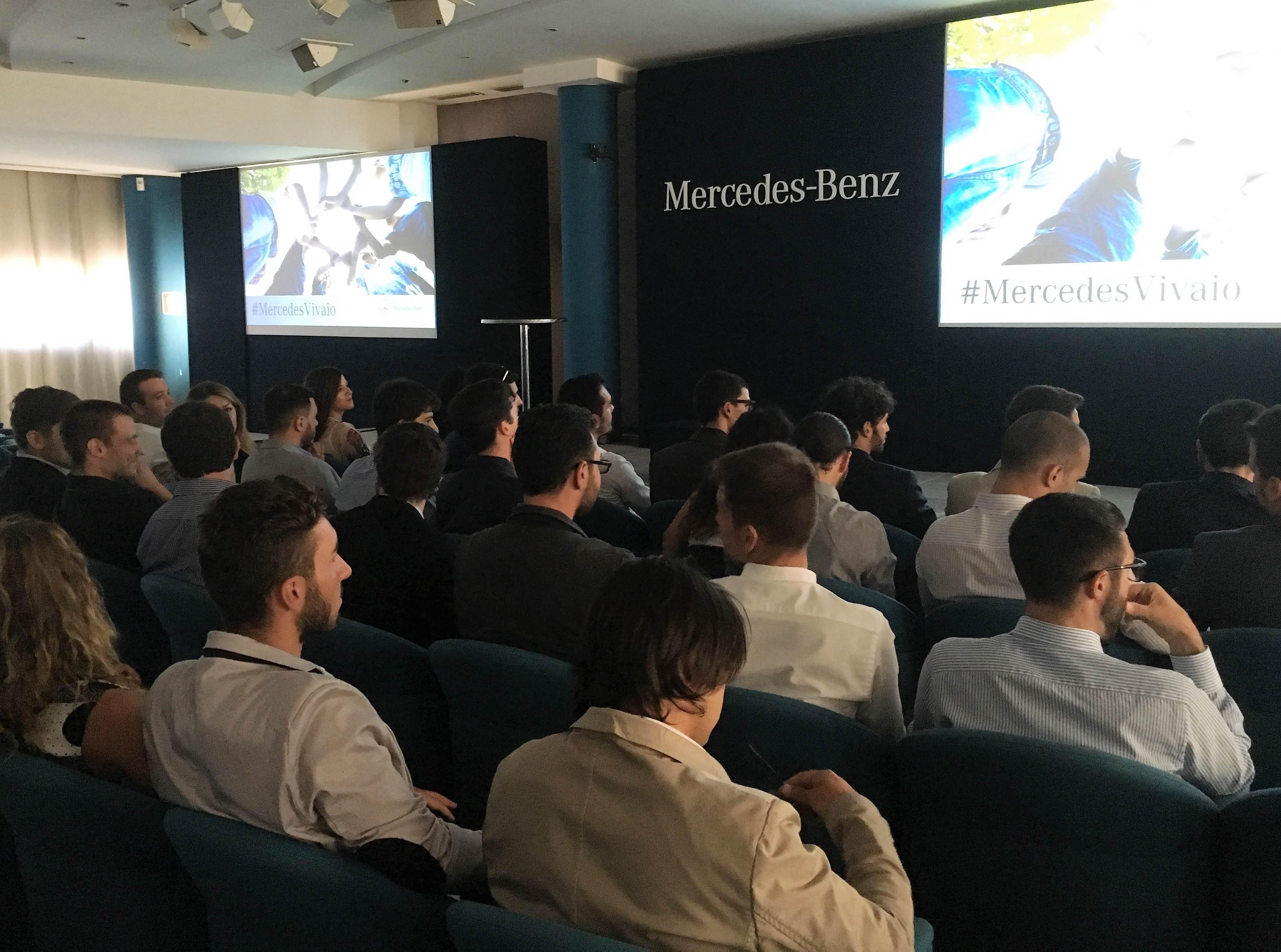 #MercedesVivaio