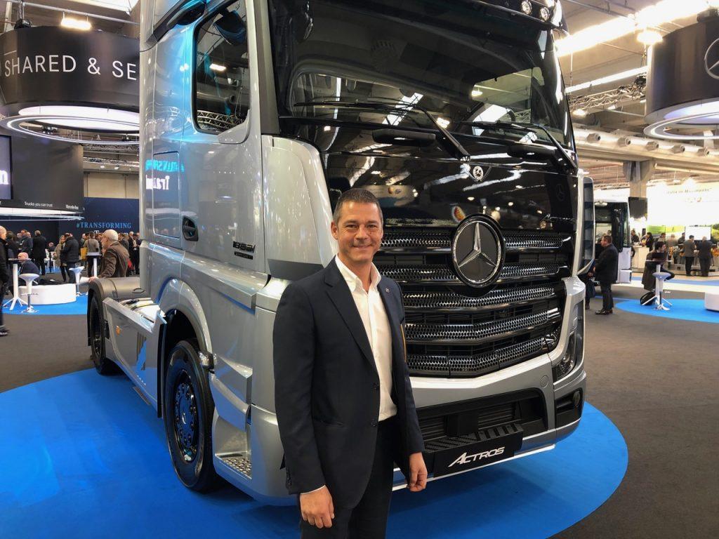 Maurizio Pompei, ad Mercedes Trucks Italia