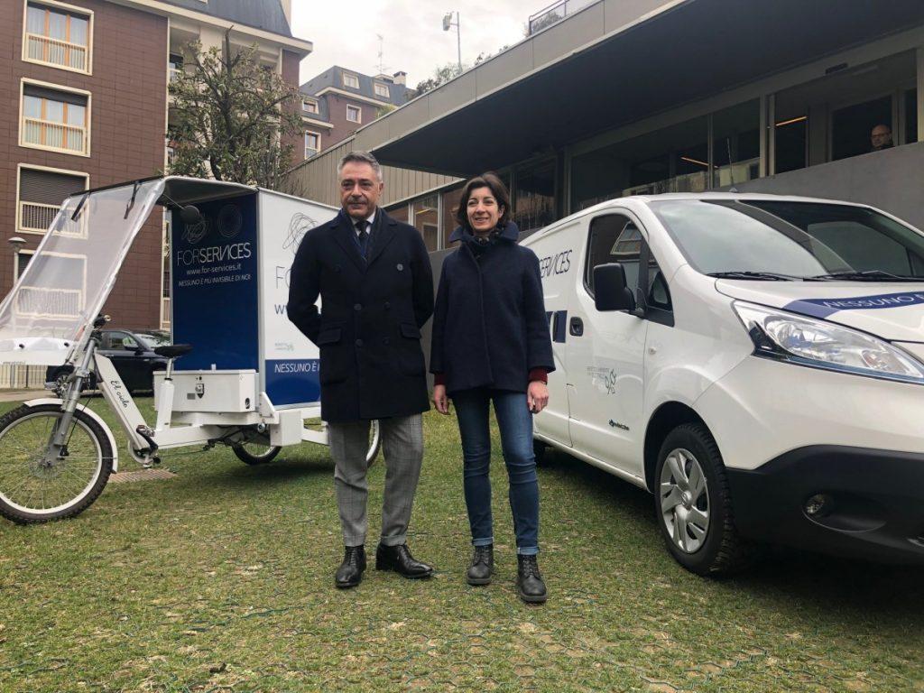 A Milano la logistica dell'ultimo miglio diventa green