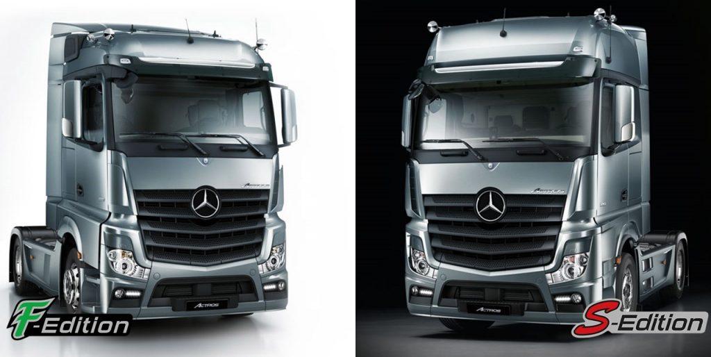 Mercedes-Benz Actros 'S' e 'F' Edition