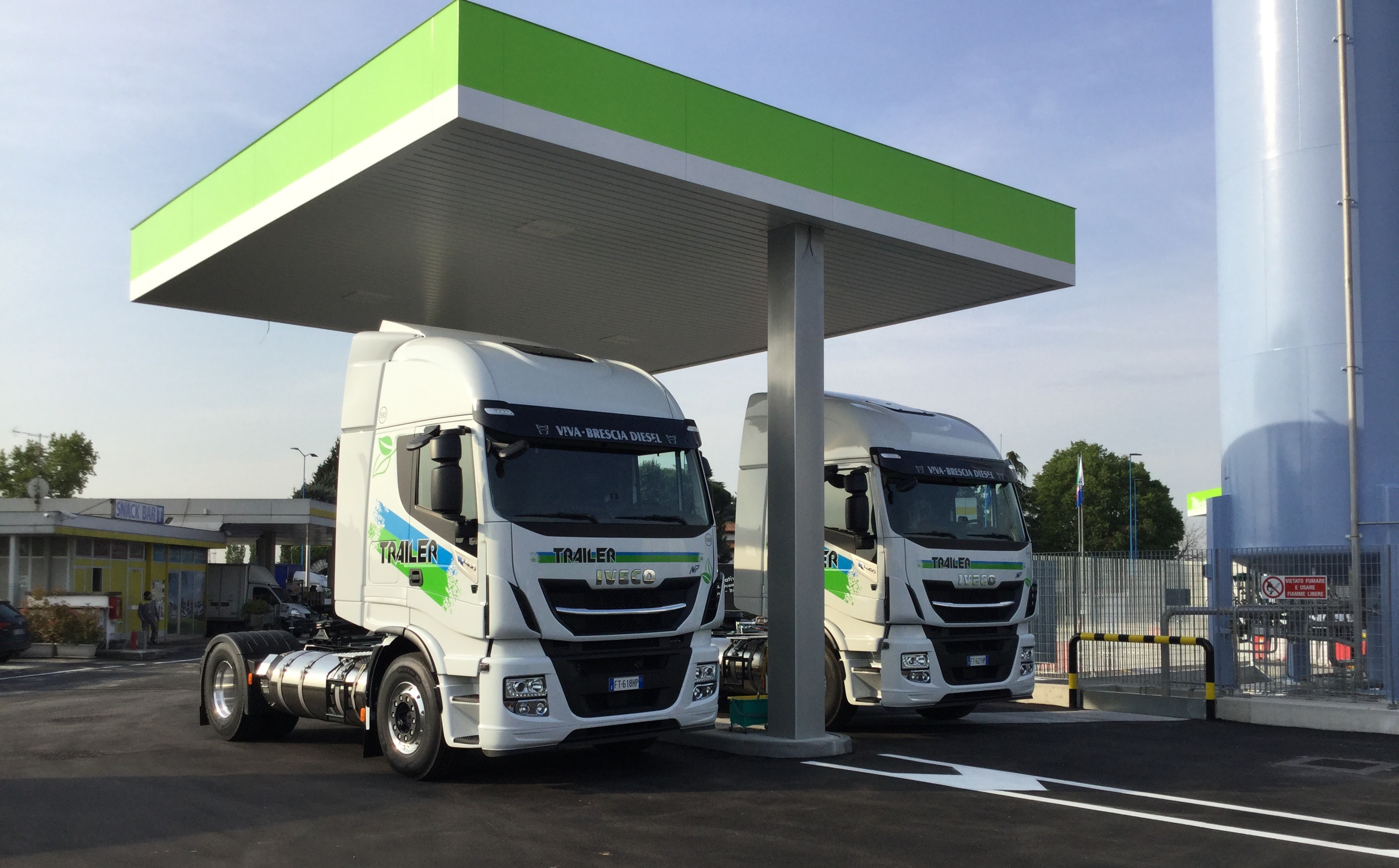 Nuova stazione di rifornimento LNG a Brescia