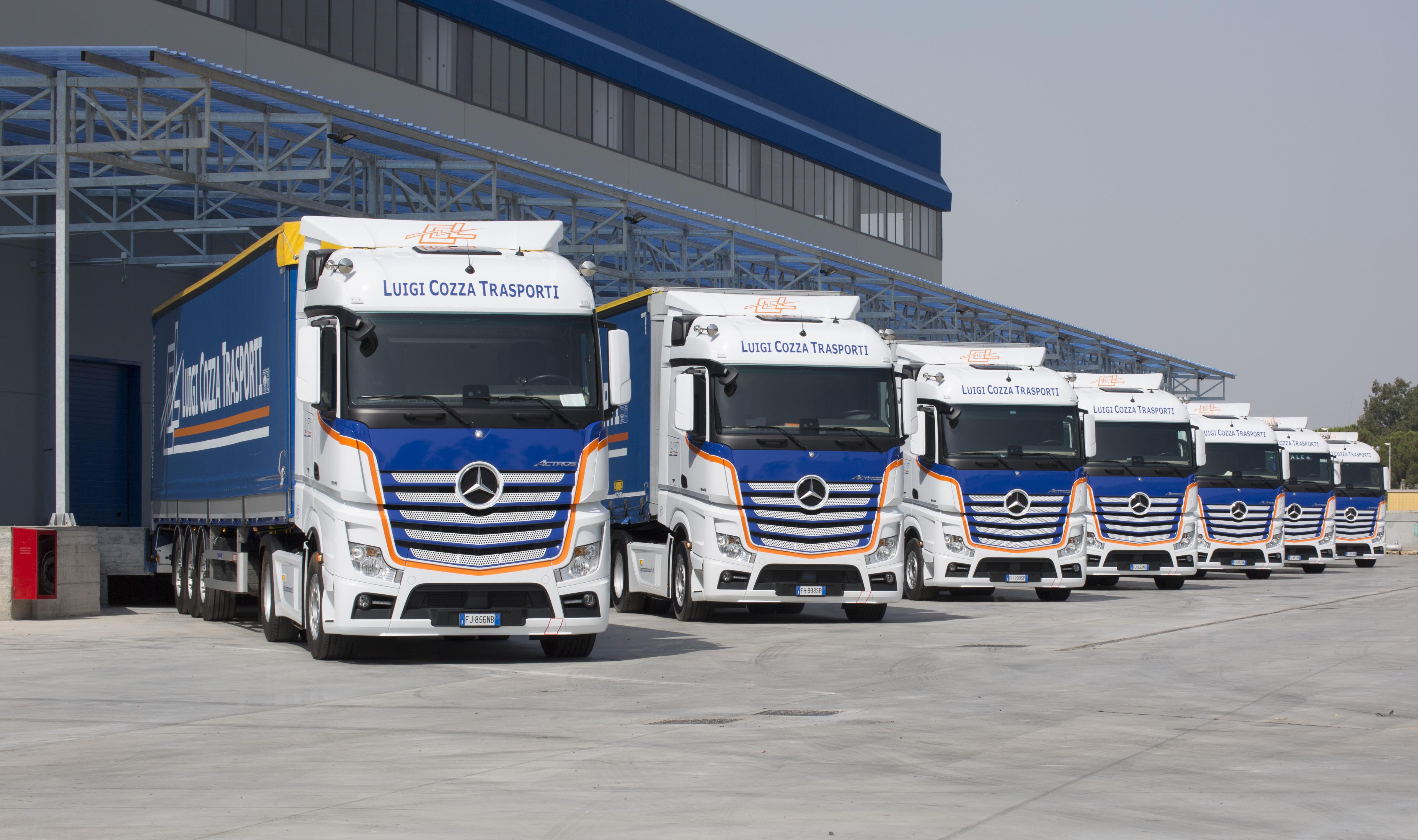 Mercedes-Benz Trucks Italia: 40 Actros alla siciliana LCT S.p.A