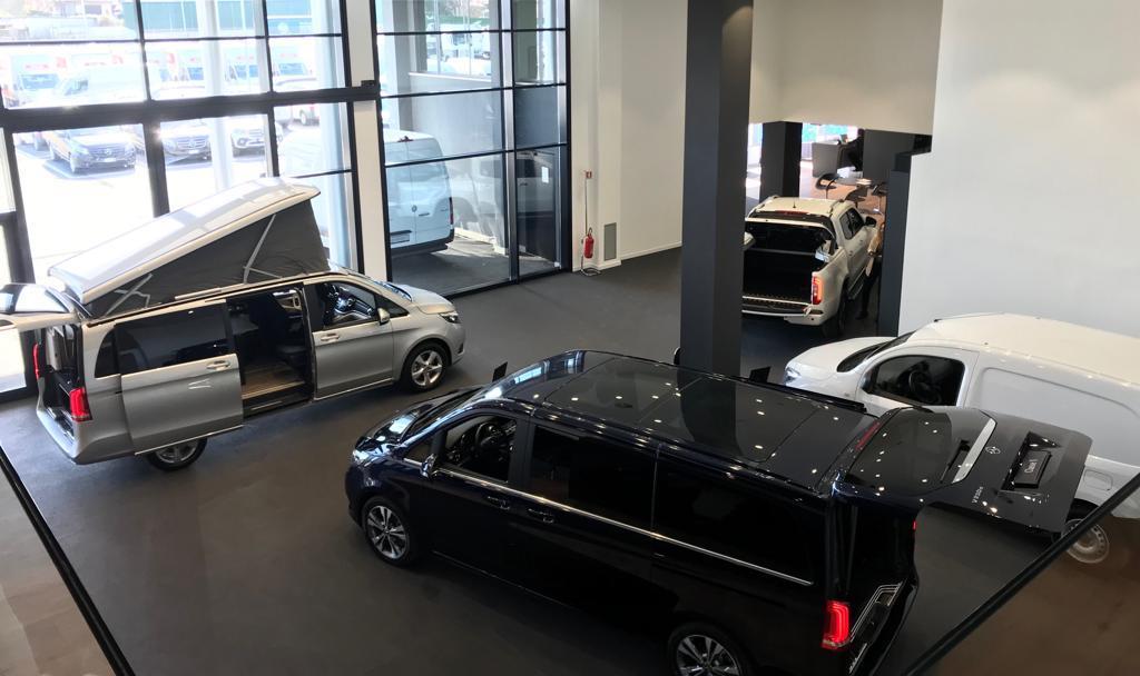 Mercedes-Benz Roma, inaugurata la nuova sede Vans e Trucks