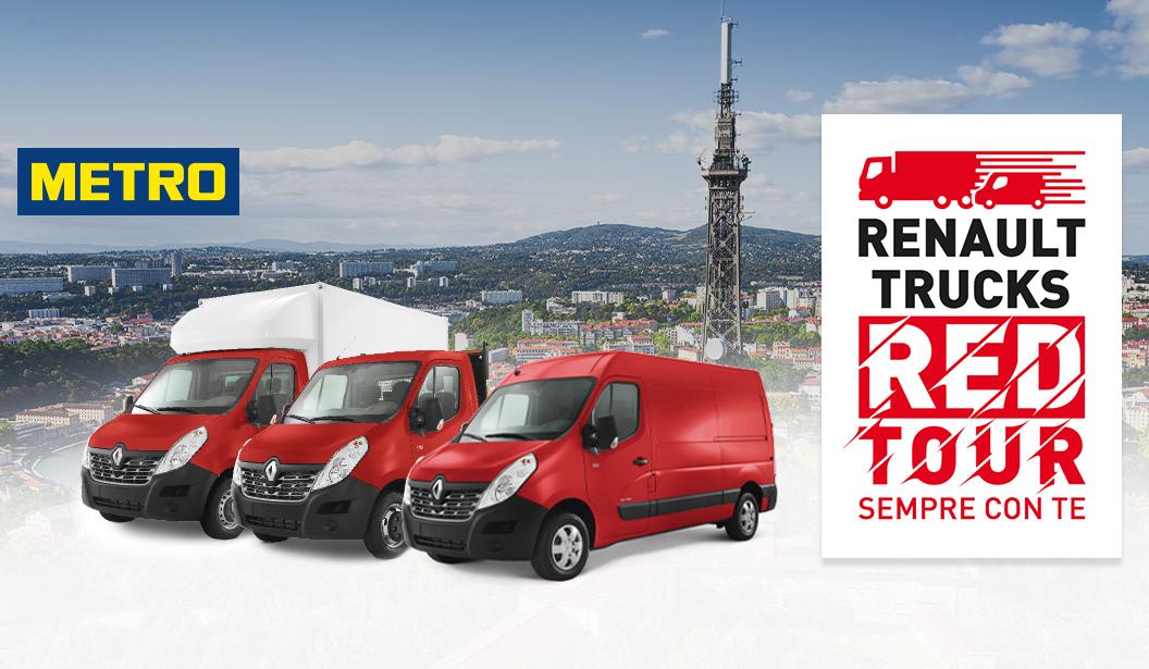 Renault Trucks Red Tour 2019, l'accento è sulla distribuzione