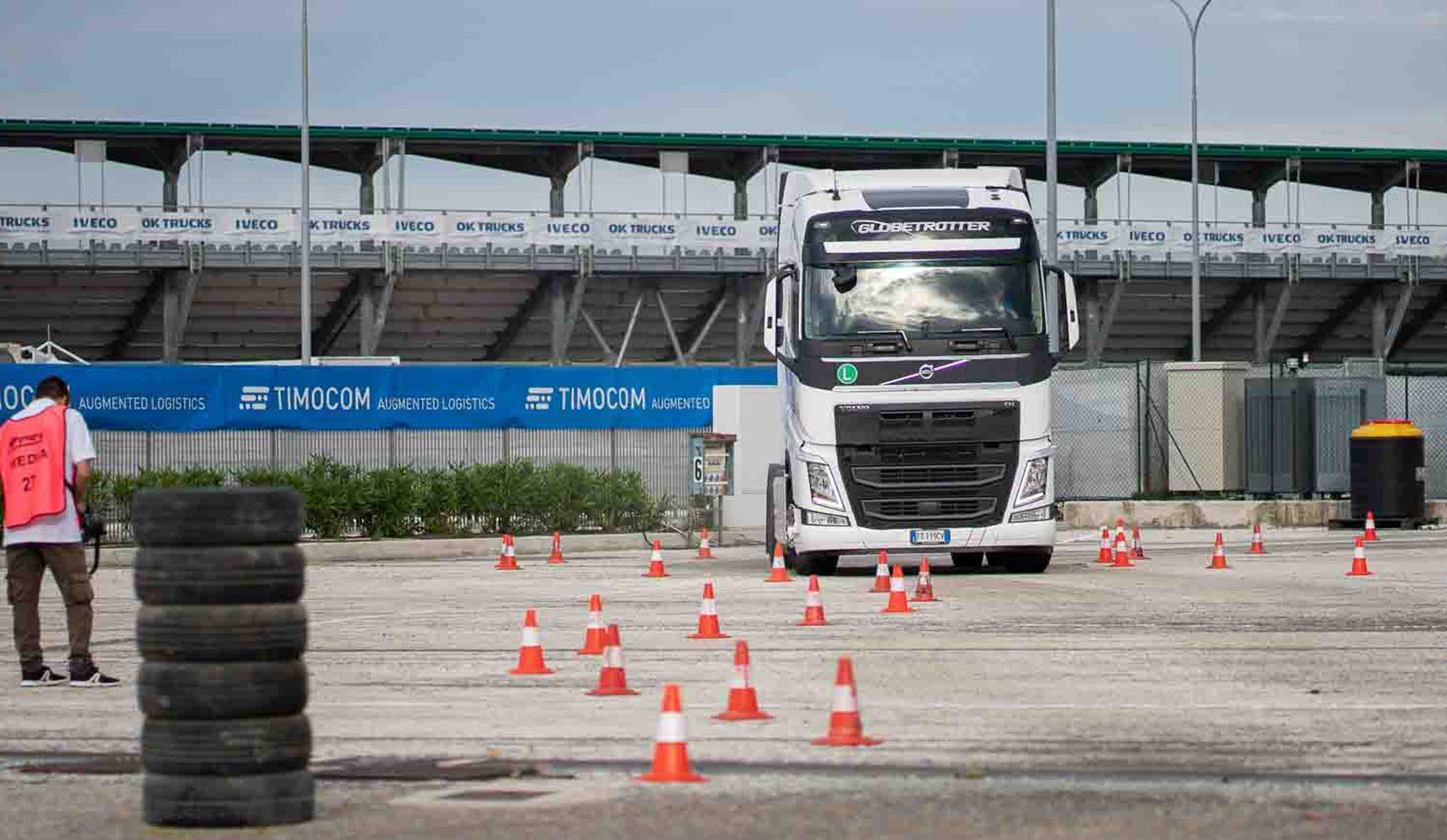 Volvo Trucks Driver Specialist Challenge, la classe non è acqua