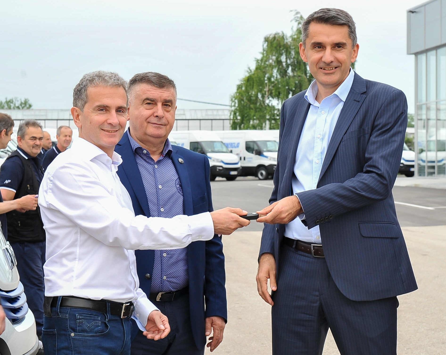 Iveco, 45 nuovi Daily Natural Power alla serba Centrosinergija