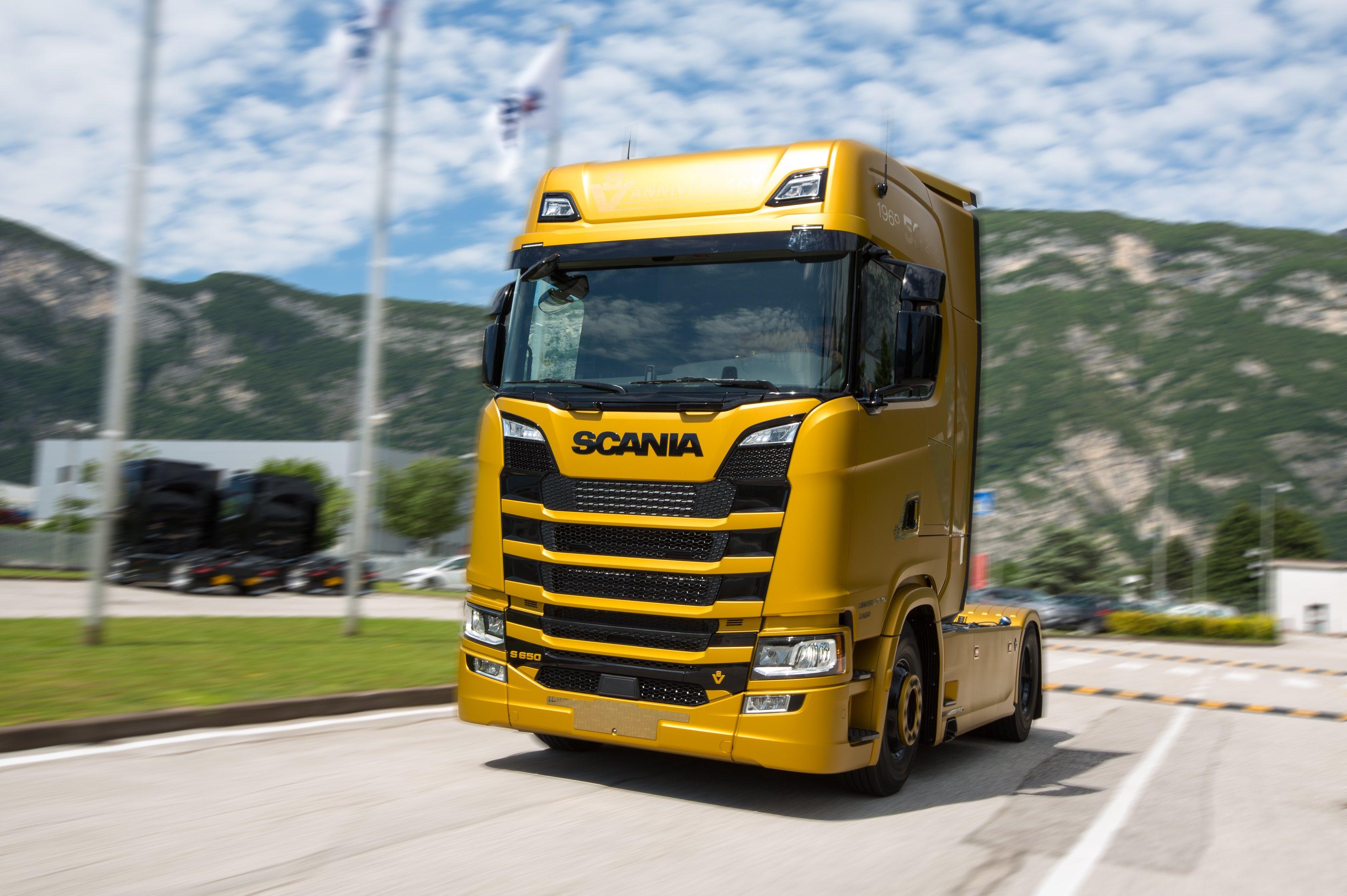 Scania V8 Anniversary