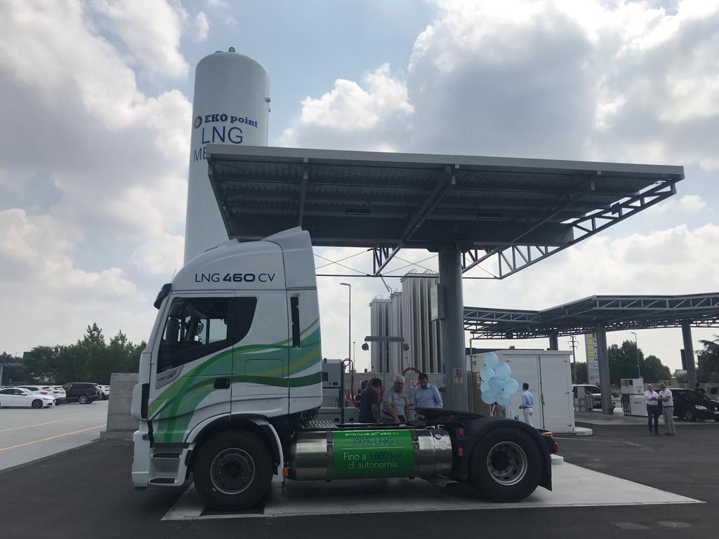 Inaugurata una nuova stazione LNG ad Agrate Brianza
