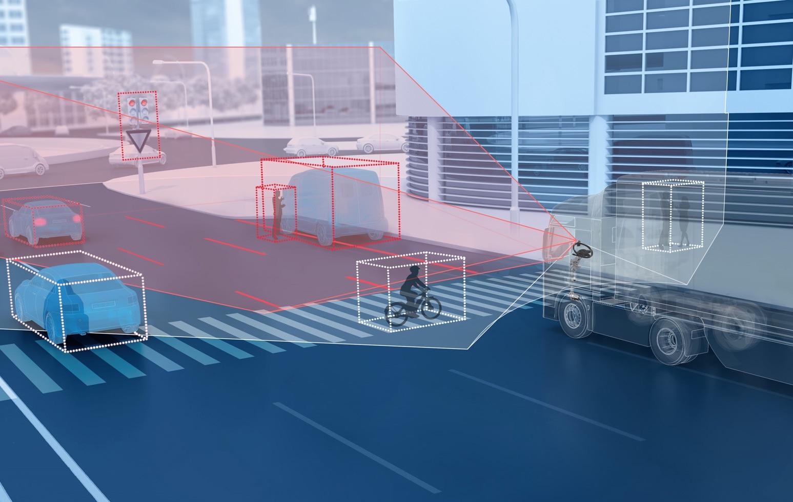 ZF sviluppa una telecamera a doppia lente per veicoli commerciali e industriali