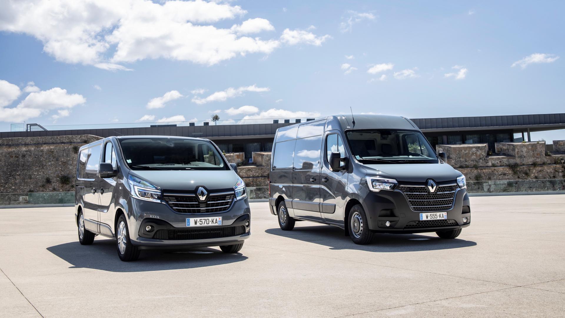 Renault Master e Trafic