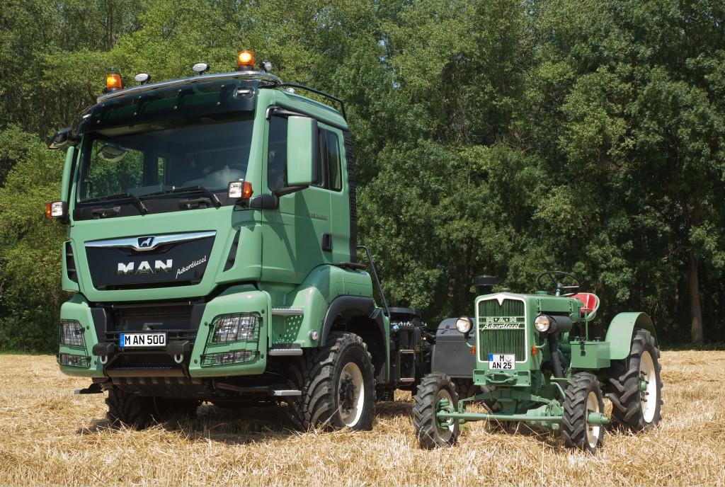 MAN Truck & Bus riporta il camion ad Agritechnica