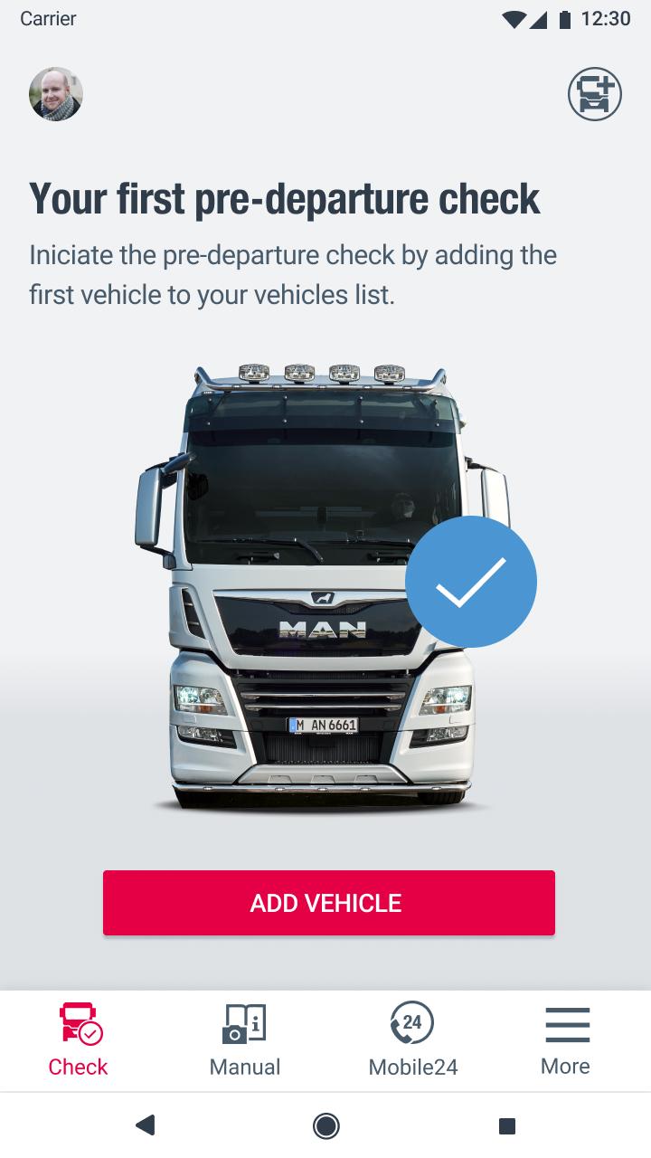 MAN Driver App