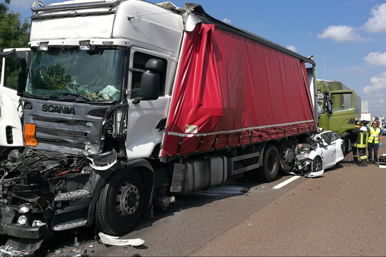 Tamponamento camion