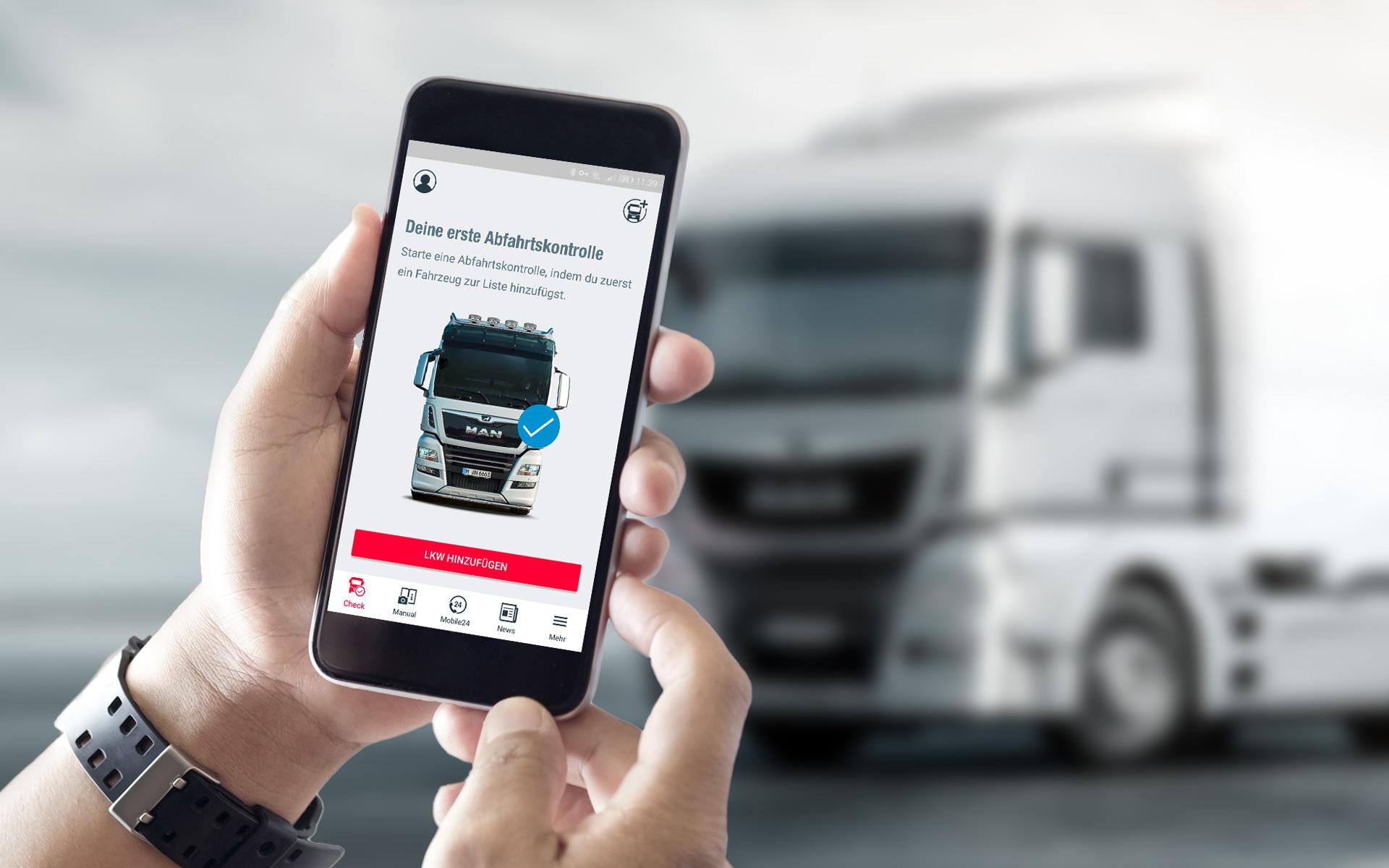 MAN Driver App: sempre connessi ai propri veicoli