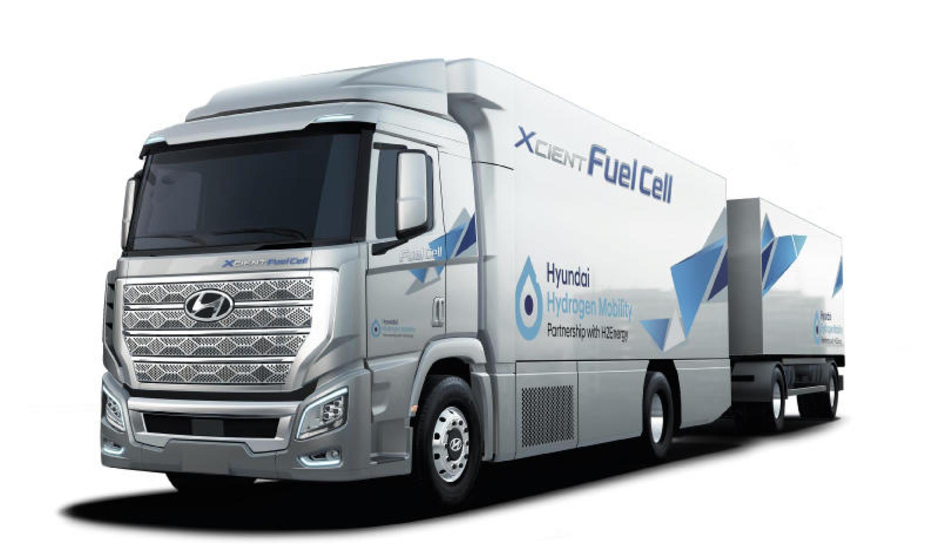 Camion Hyundai a idrogeno