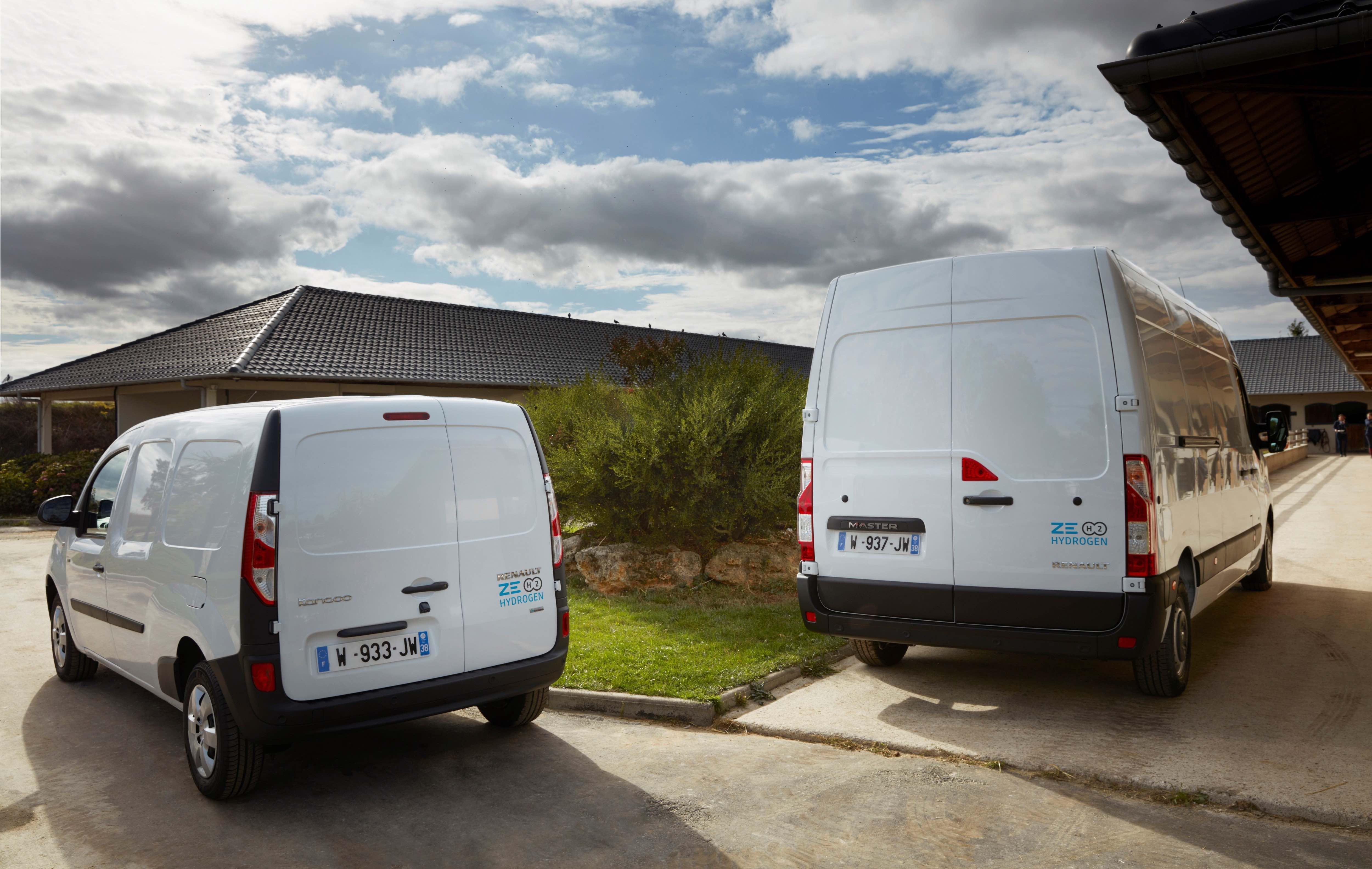 Renault Master Z.E. Hydrogen e Renault Kangoo Z.E. Hydrogen