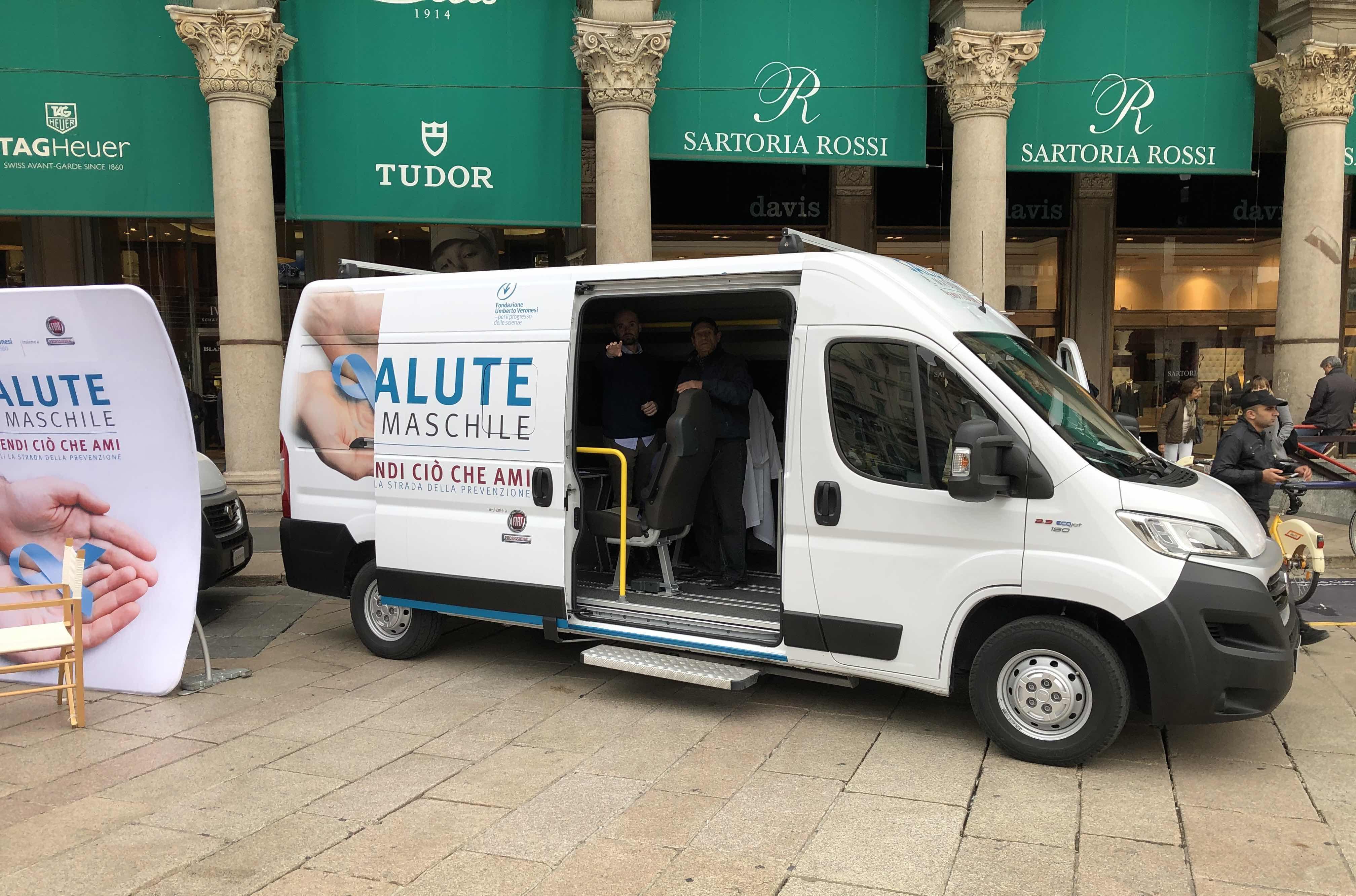 Tour Prevenzione, salute anche al maschile con Fiat Professional
