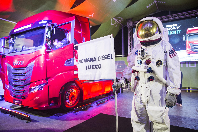 October Truck Fest 2019, Romana Diesel suona la carica