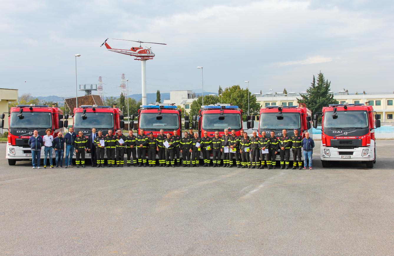 Volvo Trucks e Vigili del Fuoco, la sicurezza per professione
