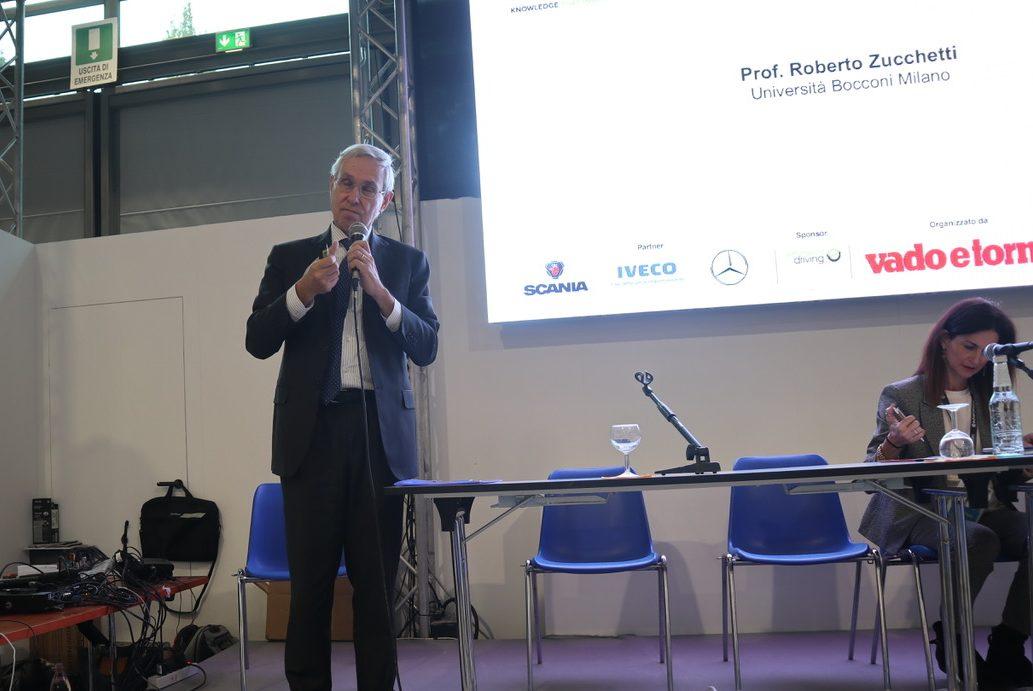 Roberto Zucchetti, professore dell'Università Bocconi