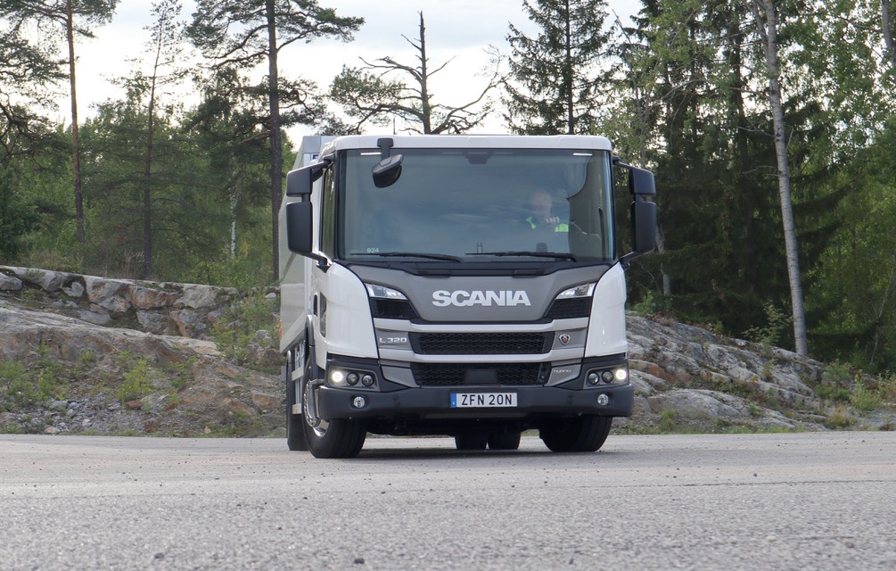 STY 'DISTRIBUTION 2020': SCANIA HYBRID