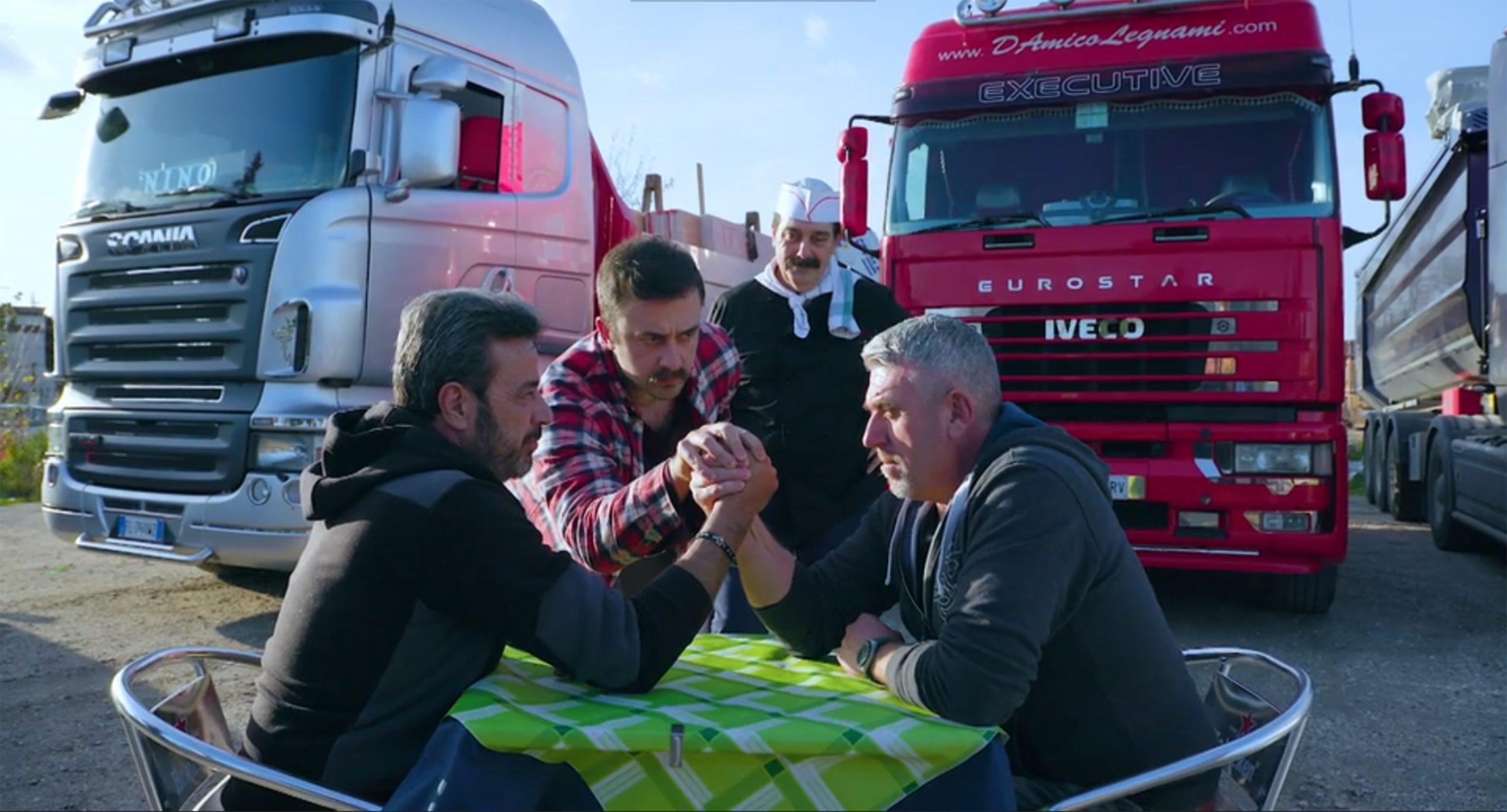 Camionisti brutti, sporchi e cattivi secondo media e Governo