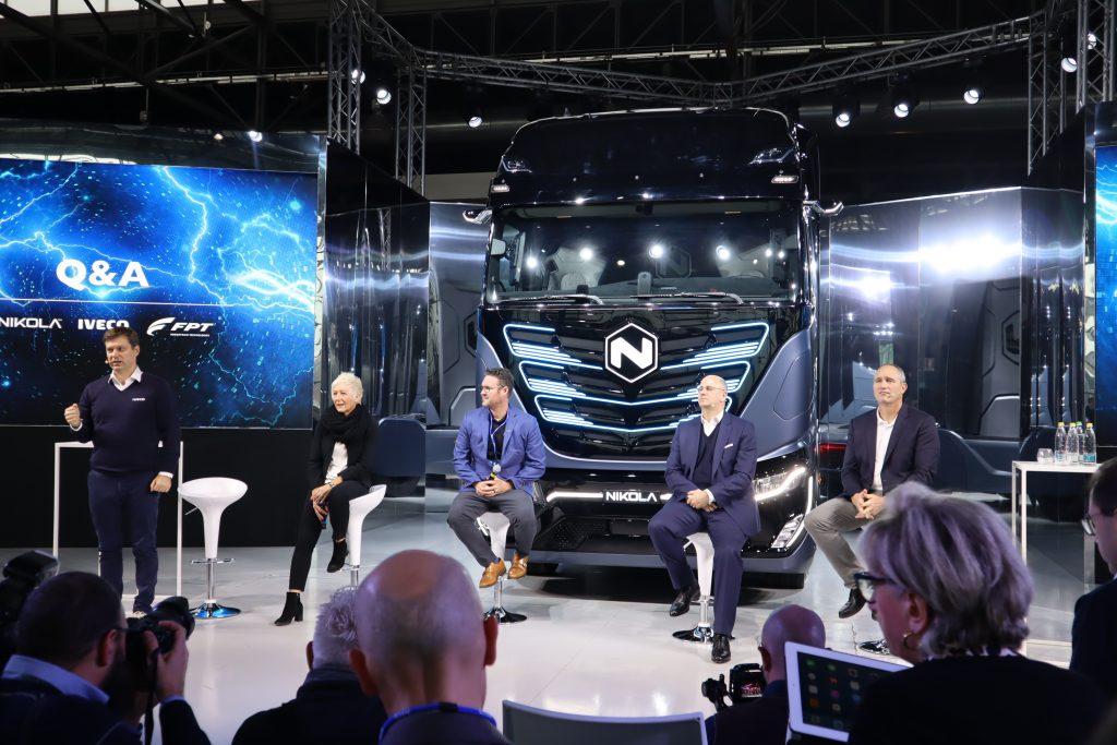 Iveco, Fpt e Nikola svelano il loro primo truck elettrico (e pensano all'idrogeno)