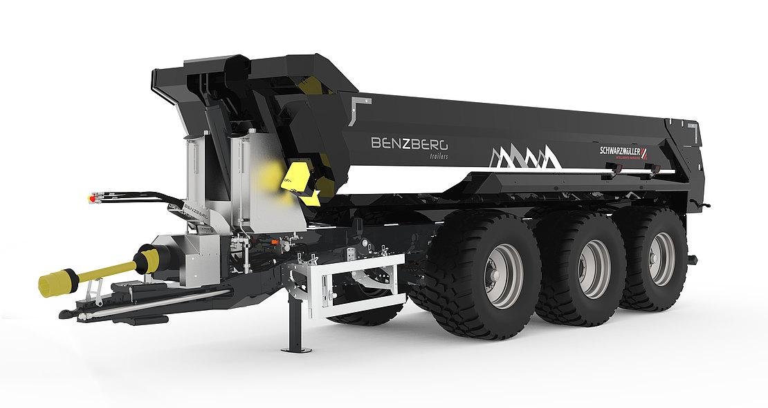 La collaborazione con la specialista austriaca Benzberg permetterà di sviluppare nuovi mercati e nuovi sistemi di movimentazione pesante fuoristrada