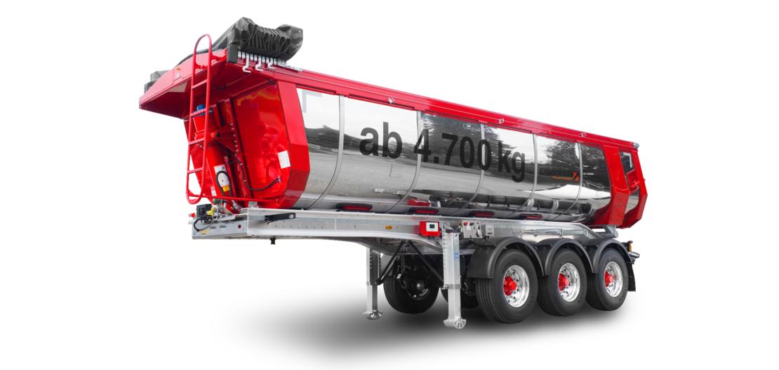 Il nuovo trailer coibentato Schwarzmüller per il trasporto di conglomerati bituminosi è stato certificato dal TÜV Süd
